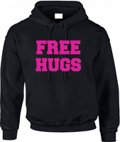 FREE HUGS HOODIE - INSPIRED BY ALIENS